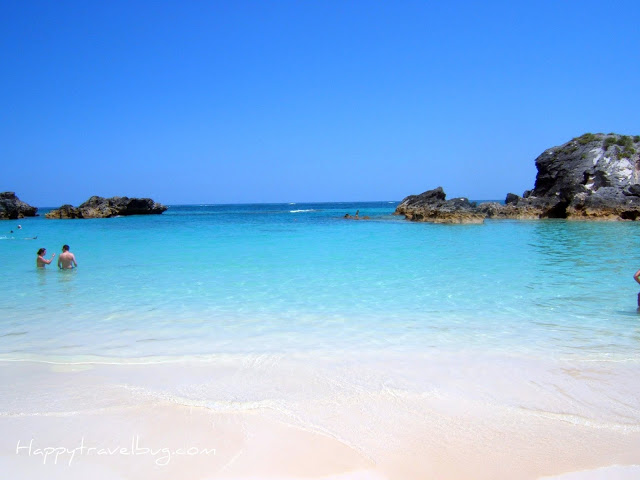 Pink Sand beach in Bermuda