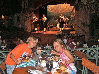 German restaurant in Epcot in DisneyWorld