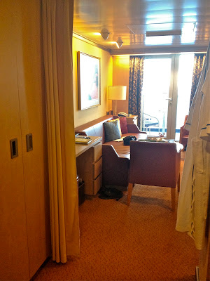Entrance to Superior Suite on the Holland America Noordam