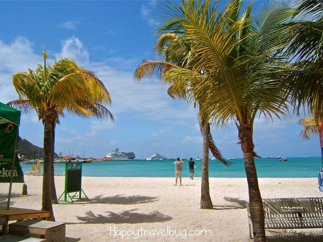 St Maarten beach