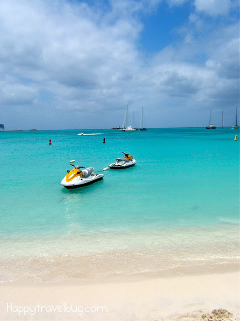 Jet skis in St Maarten