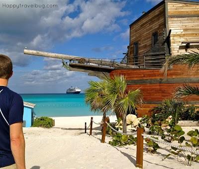 bar shaped like a pirate ship