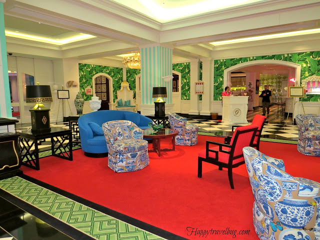 lower level of the Greenbrier