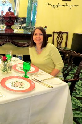 Dinner in the Main Dining Room
