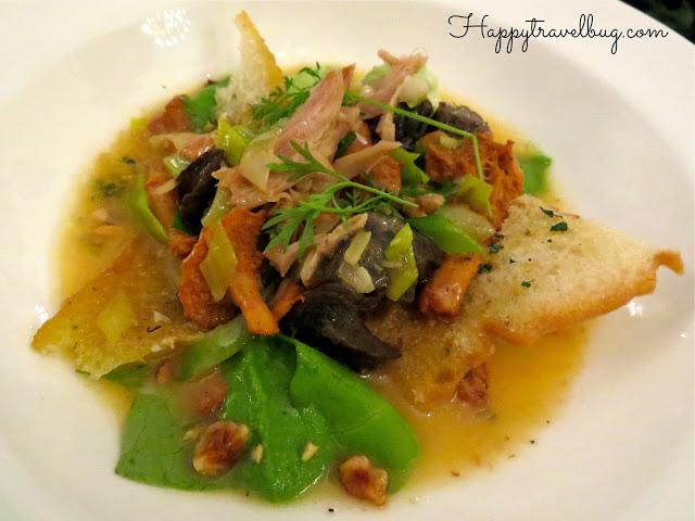 Garlic Braised Escargot and Rabbit Leg