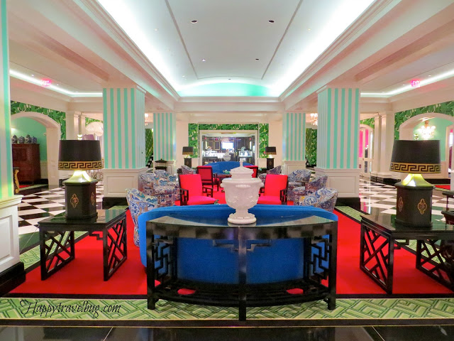 lower level at the Greenbrier