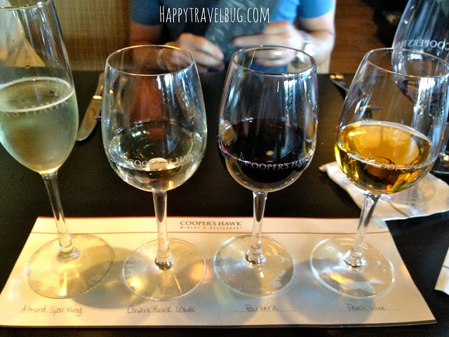 Wine flight