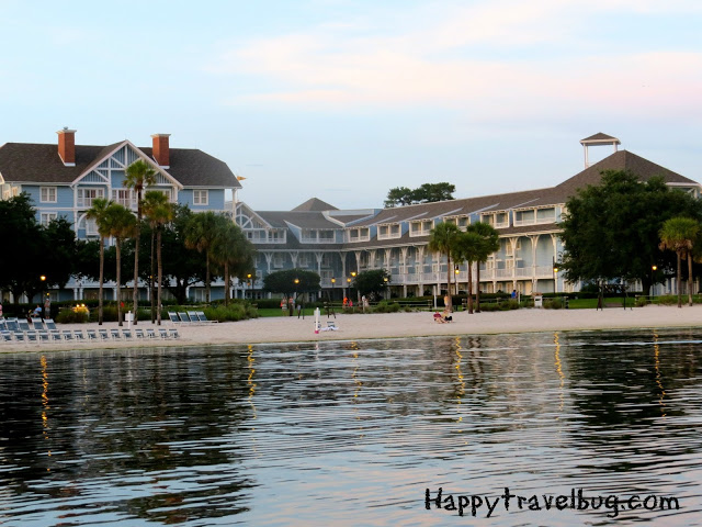 Disney's Beach Club Resort beach side
