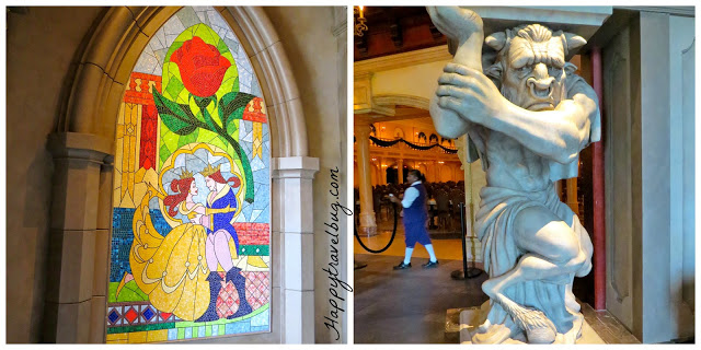 Lobby of Be Our Guest Restaurant at Disney World