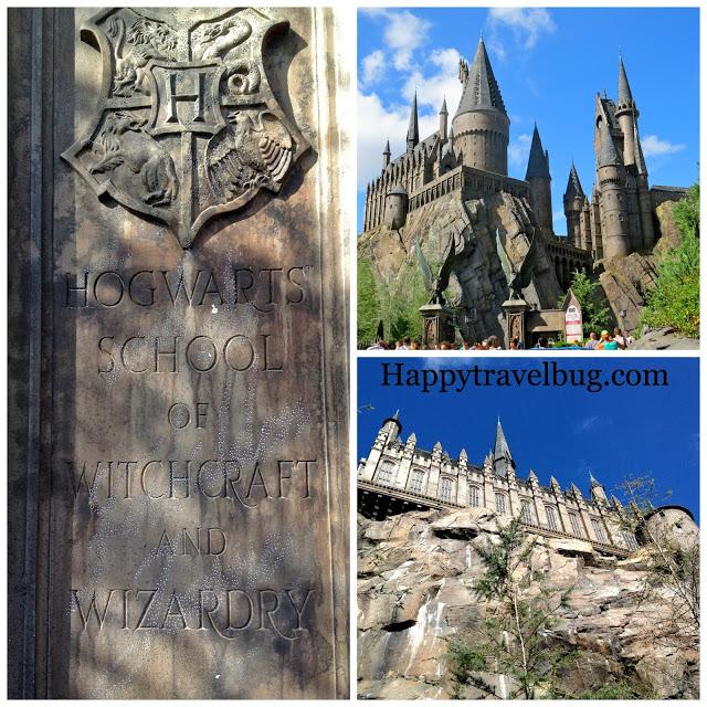 Hogwarts school at Universal Studios