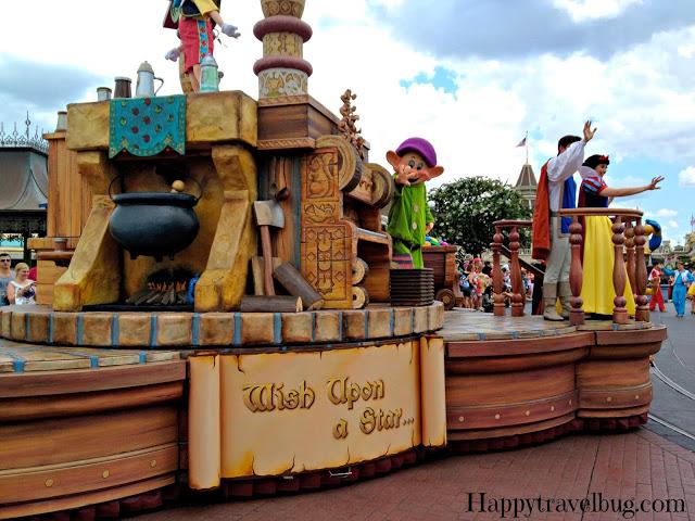 Parade at Magic Kingdom Disney World