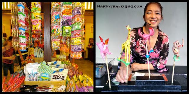 Japanese Candy at Epcot (Disney World)