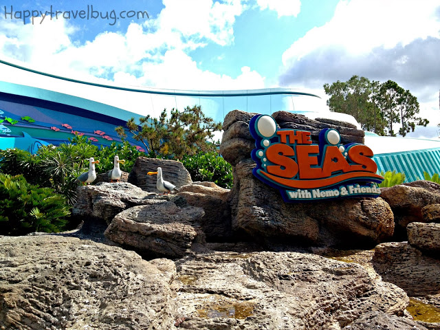 The Living Seas in Epcot at Disney World