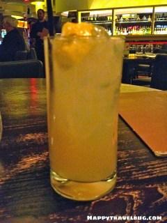 Cocktail from Nobu in Las Vegas