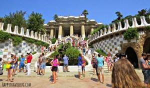 Park Guell: Barcelona, Spain