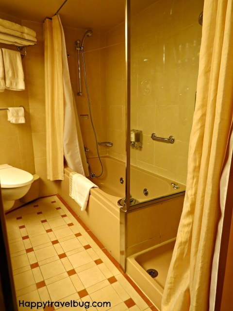 Bathroom in a Signature Suite on a Holland America Cruise