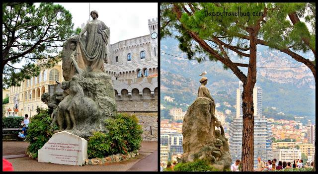 Statues in Monaco