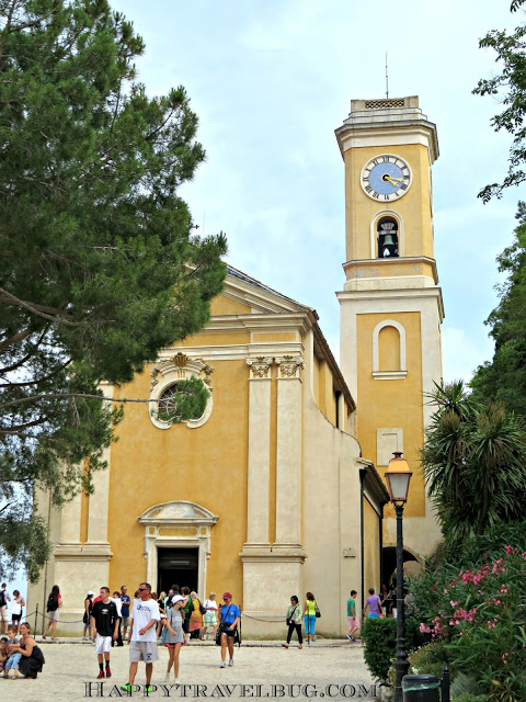 The church of Eze, France