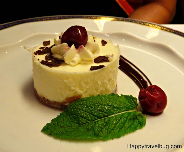 Cheesecake on Holland America Cruise