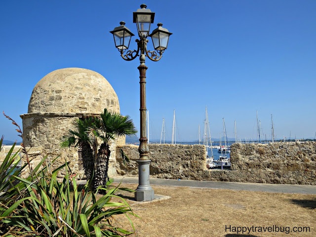 The ancient walls of Alghero, Sardinia, Italy
