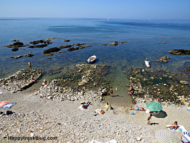 Rocky coastline of Alghero, Sardinia, Italy