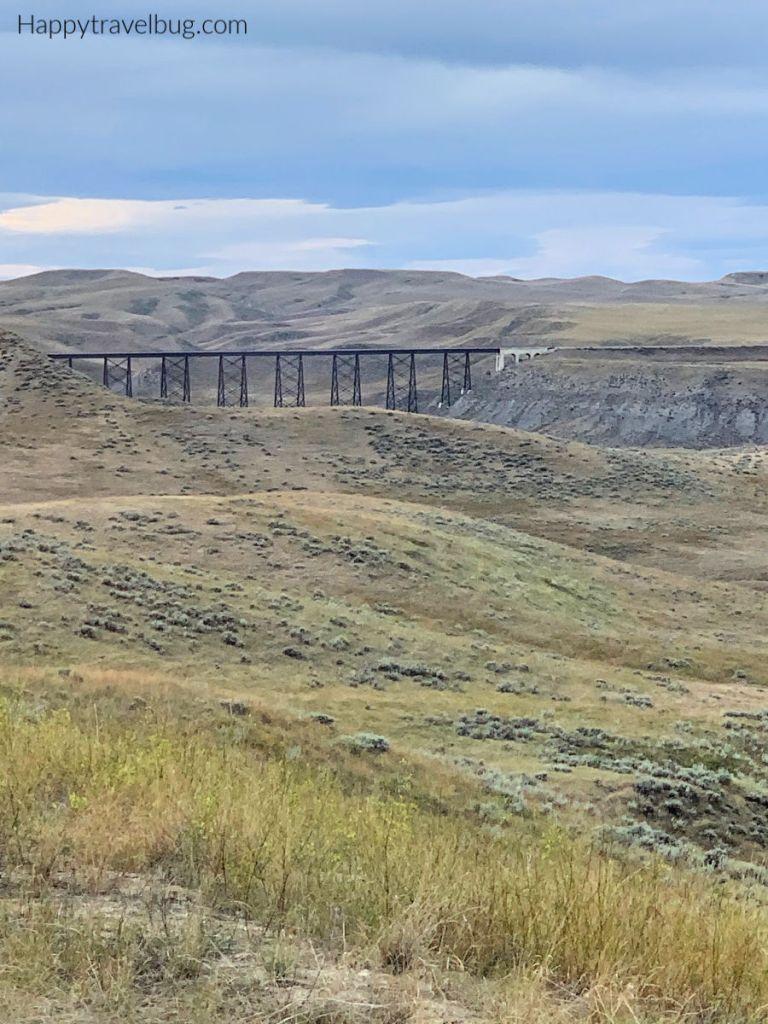 Train Trestle in Montana