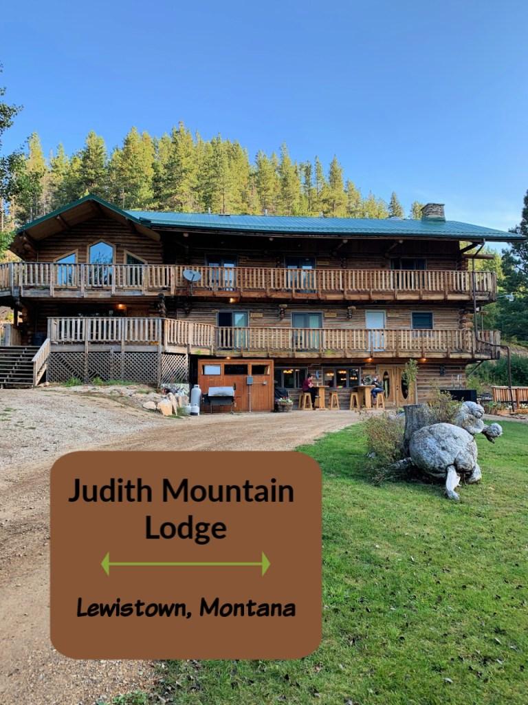 log cabin style lodge