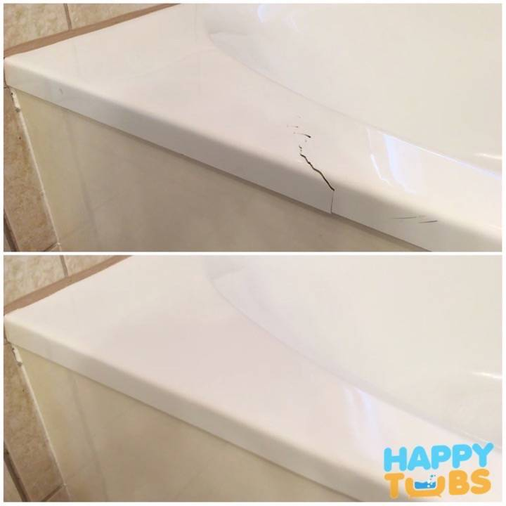Bathtub Crack Repair in McKinney, TX