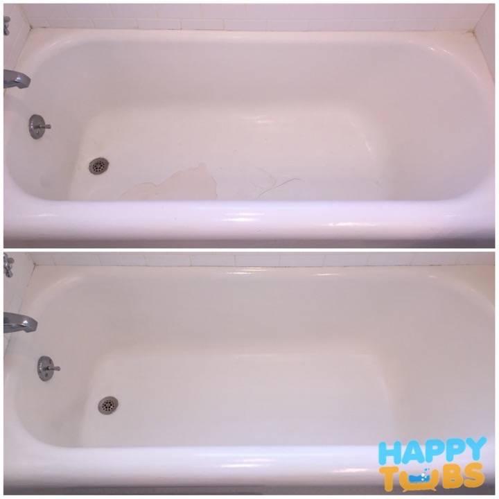 Bathtub Restoration in Rockwall, TX - Happy Tubs Bathtub Repair