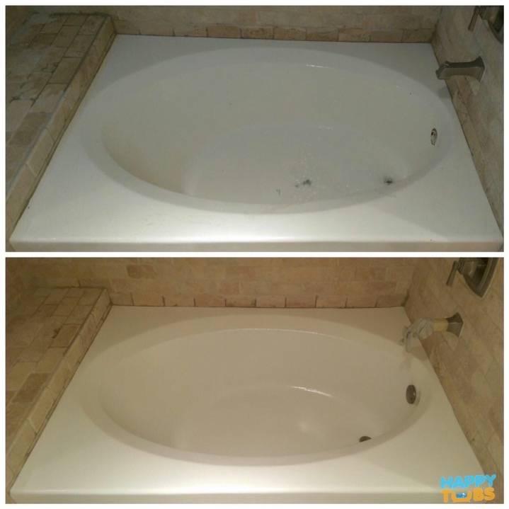 Garden Tub Refinishing in Irving, TX - Happy Tubs Bathtub Repair
