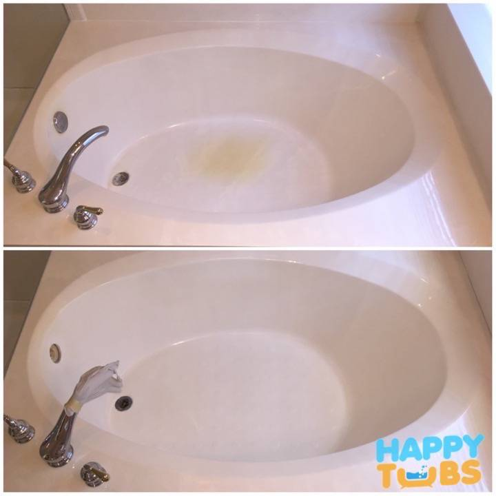 Garden Tub Restoration in Allen, TX - Happy Tubs Bathtub Repair
