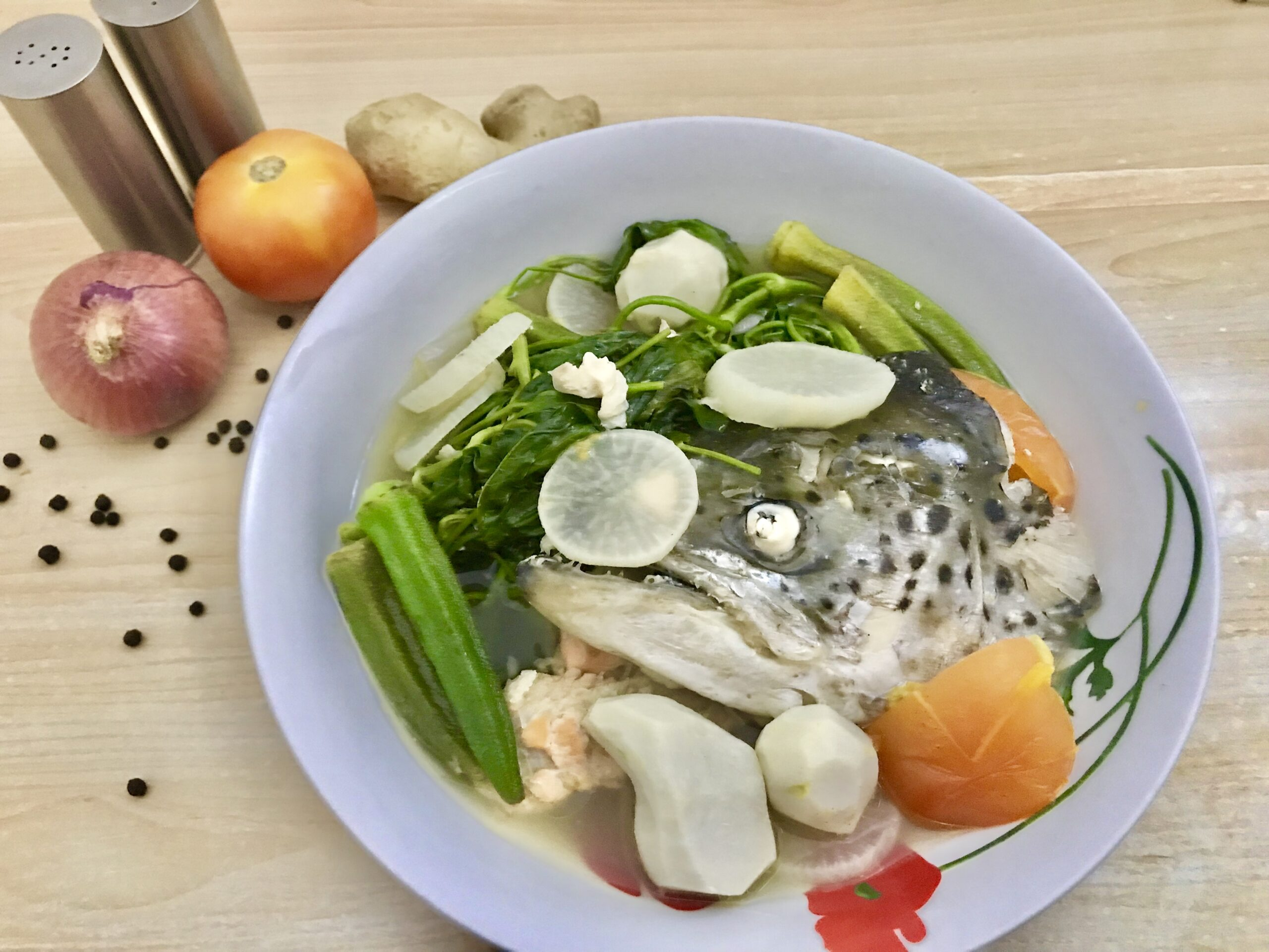 Sinigang Na Salmon Happytummyrecipes Com