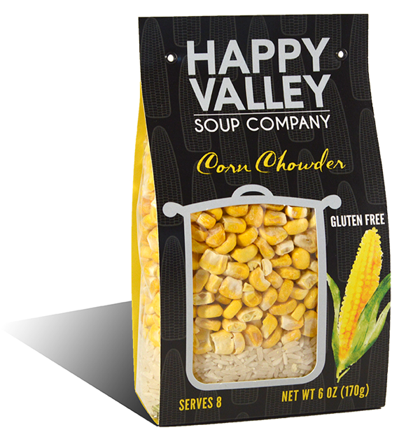 Corn Chowder Packaging