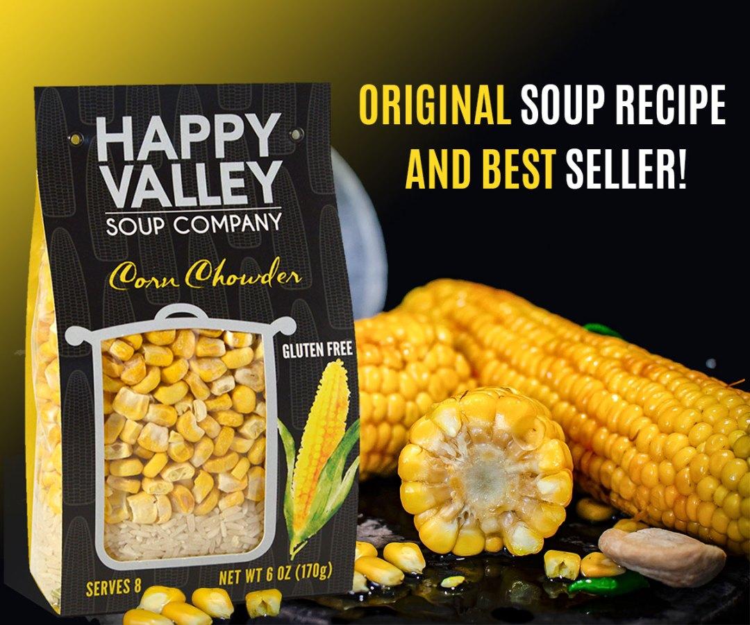 Corn Chowder - Original Soup Recipe and Best Seller