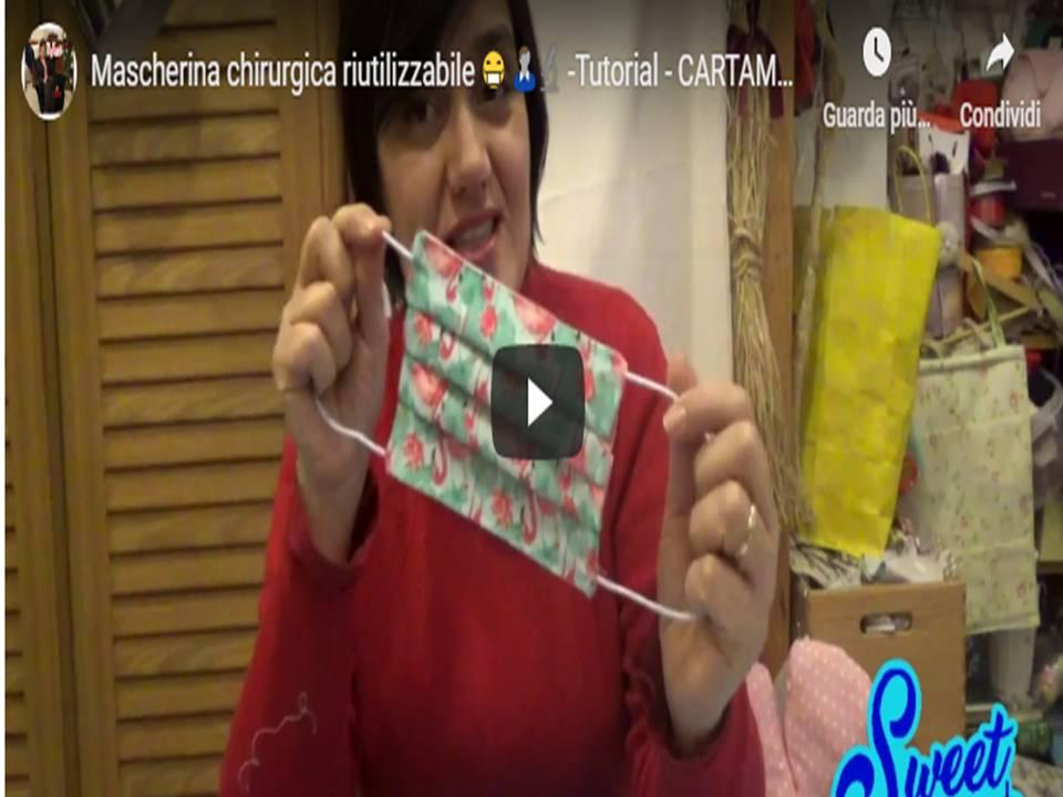 MASCHERINA – chirurgica riutilizzabile, CARTAMODELLO GRATIS Cucito Creativo