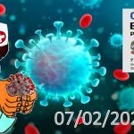 Bollettino Covid-19 i casi in Italia alle ore 18 del 07 febbraio