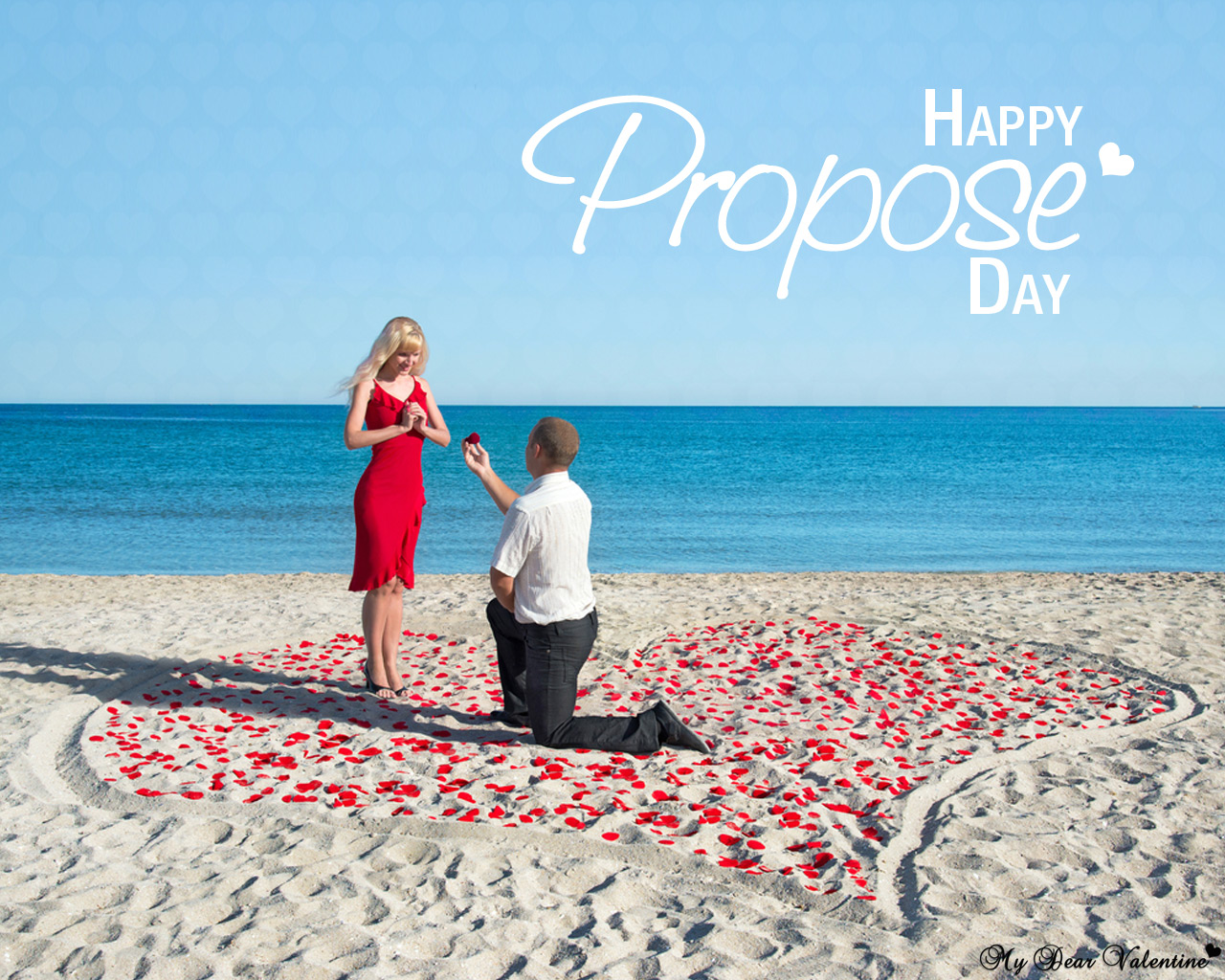Girl Propose To Boy Wallpaper With Quotes Happy Propose Day Romantic Gifts And Free Wallpapers For