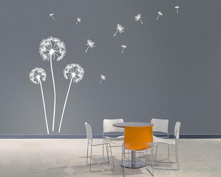 Dandelion Wall Art Decals