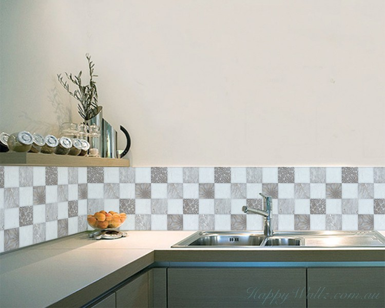 square self adhesive tile stickers