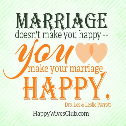 Marriage Doesn39t Make You Happy Happy Wives Club