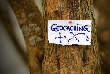 Geocaching en famille
