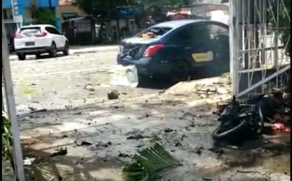 Bom Gereja di Makassar Pesan Teroris Untuk Densus
