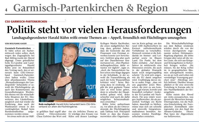 Garmisch-Partenkirchner Tagblatt 12.03.2016
