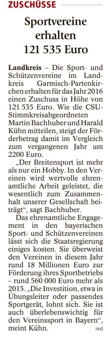 Garmisch-Partenkirchner Tagblatt, 30.07.2016