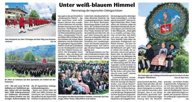 Kreisbote Garmisch-Partenkirchen, 11.05.2016