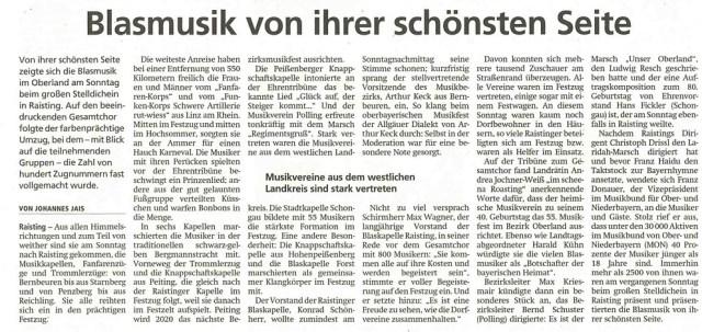 Schogauer Nachrichten, 23.07.2019