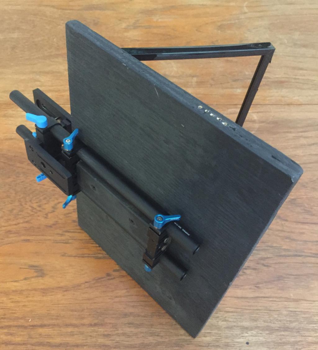 Dwayne's DIY Video Setup – Part 1 Teleprompter & Tripod
