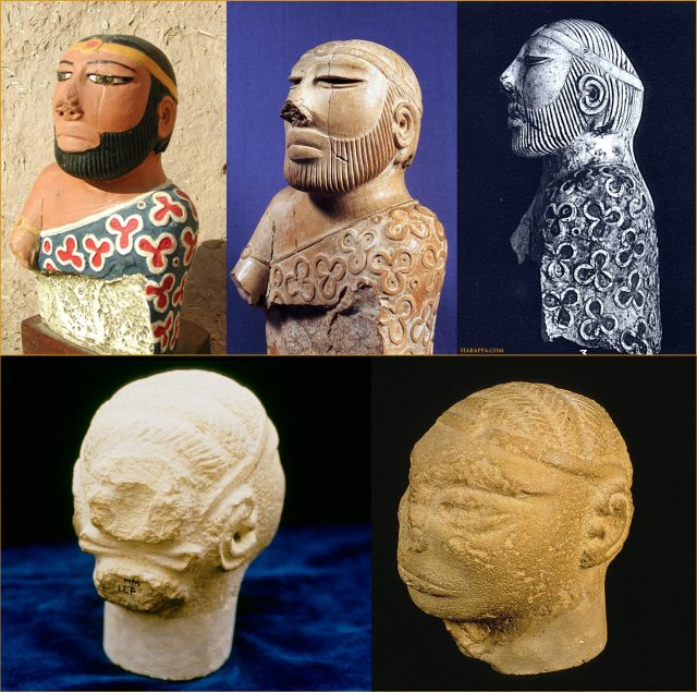 ancient indus men's hairstyles