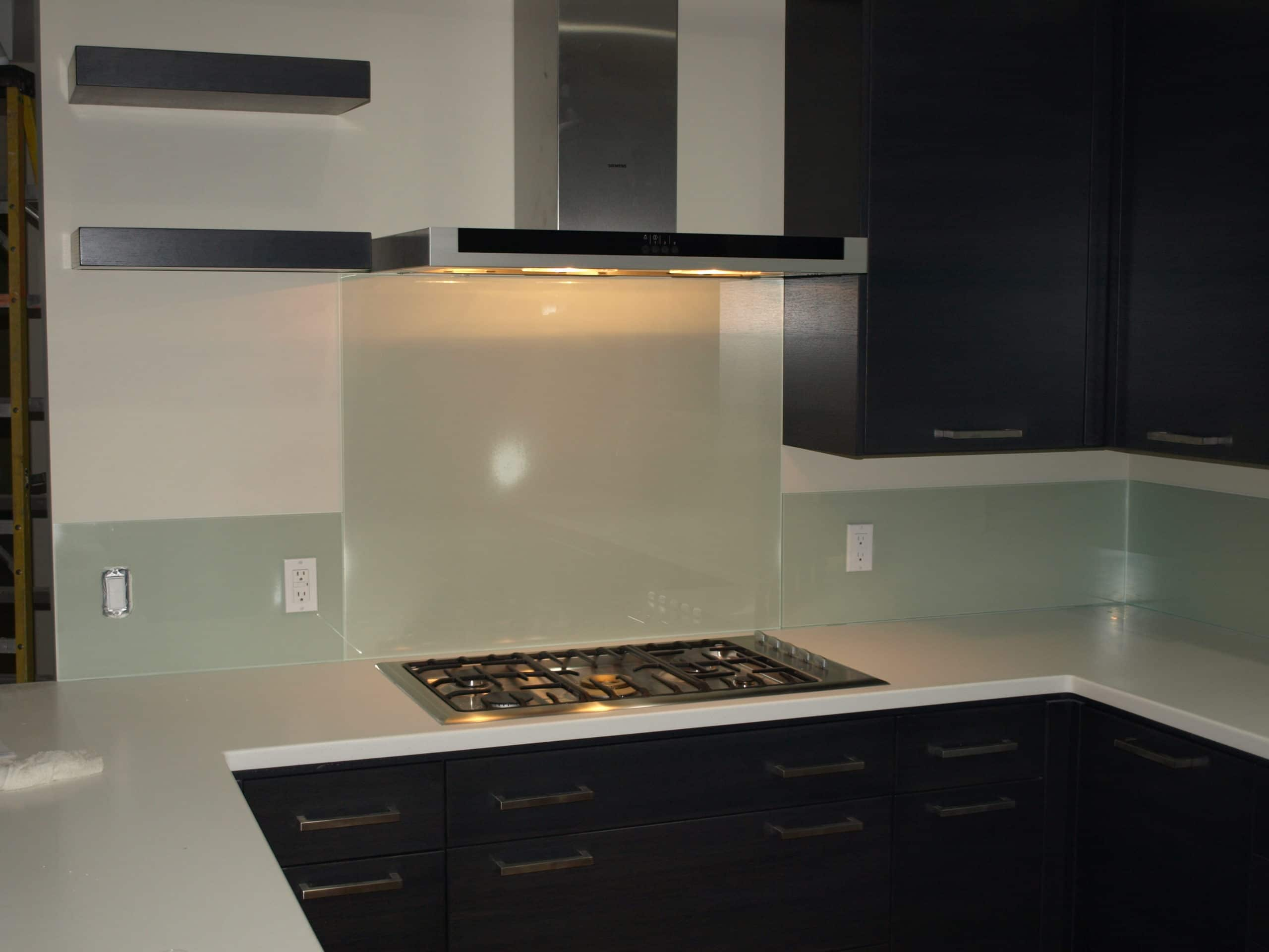 commercial kitchens top mount kitchen sinks backsplash glass - harbor all & mirror, inc.