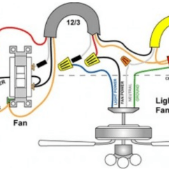 Harbor Breeze Fan Light Wiring Diagram Cow Circulatory System Ceiling - Outlet